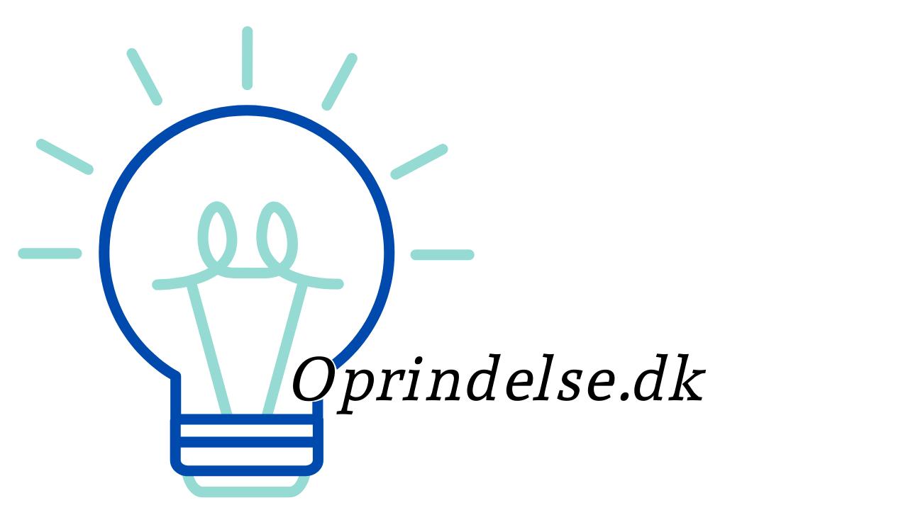 Oprindelse.dk
